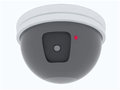 Ceiling Mounted Security by Ceiling Mounted Security 3d Model