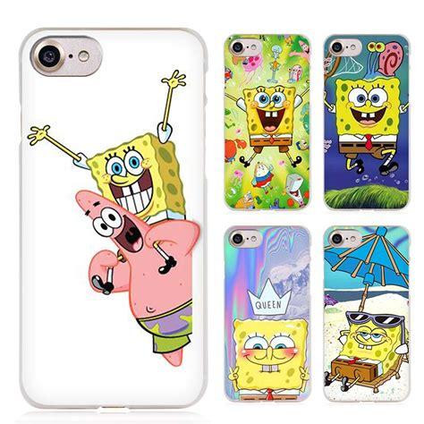 Spongebob Iphone 5 5s 5c 6 6s Plus Samsung Xiaomi Sony Mi5 sponge bob spongebob clear cell phone cover for apple iphone 4 4s 5 5s se 5c 6 6s 7