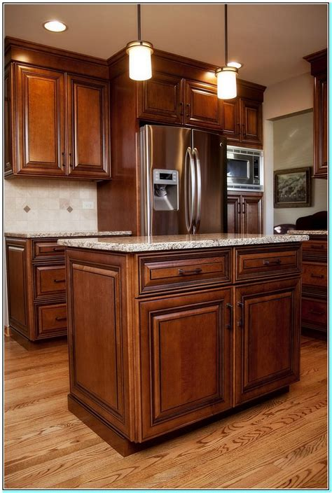 How Do You Stain Kitchen Cabinets Staining Maple Kitchen Cabinets Darker Torahenfamilia