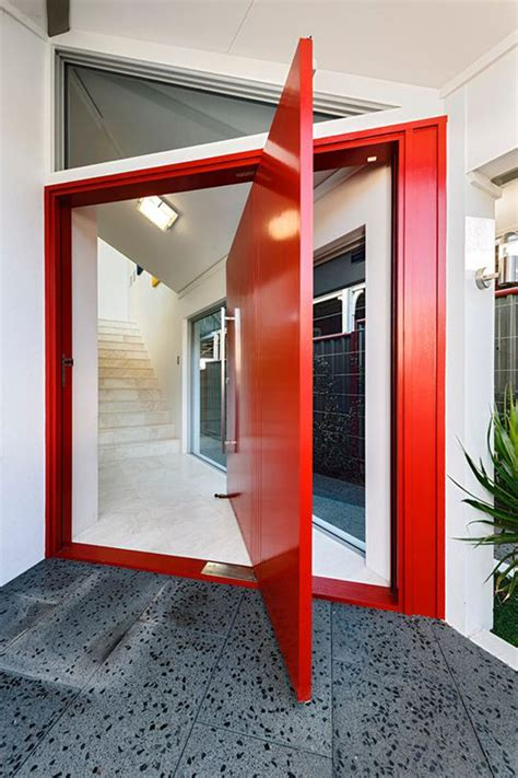 25 modern front door with wood accents decorazilla 25 modern front door with wood accents home design and
