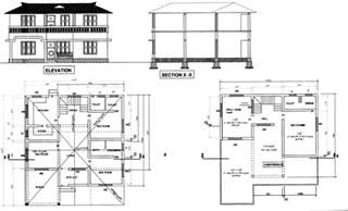 free building plans free building plans for your homes free autocad file on
