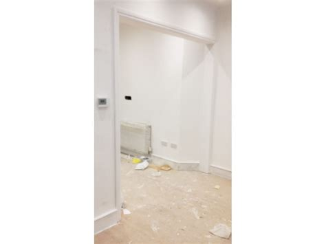 Small Glass Door by Glass Partitioning At Bow Wow Covent Garden