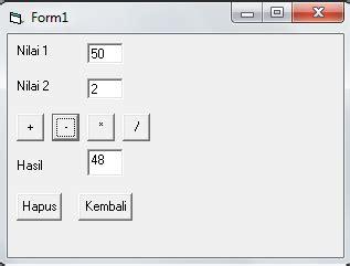 coding visual basic kalkulator program aplikasi kalkulator menggunakan visual basic 6 0