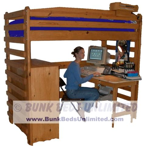 bunk bed with desk underneath plans pdf woodworking