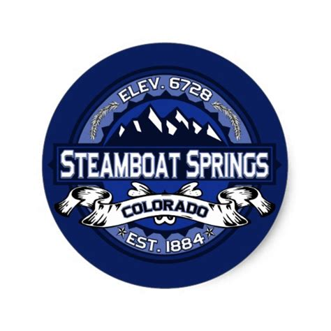 Steamboat Stickers