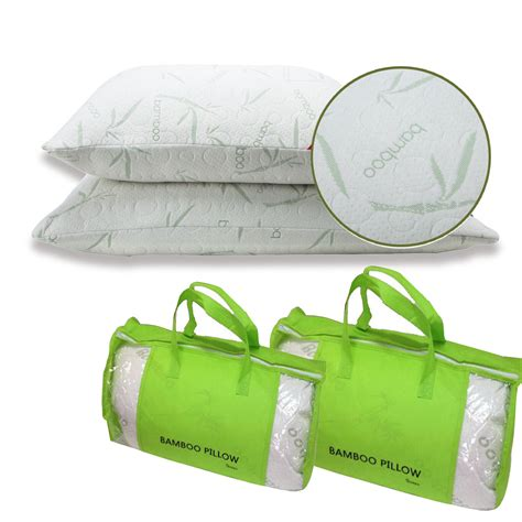 hotel comfort bamboo pillow king new comfort queen king hotel bamboo pillow memory foam