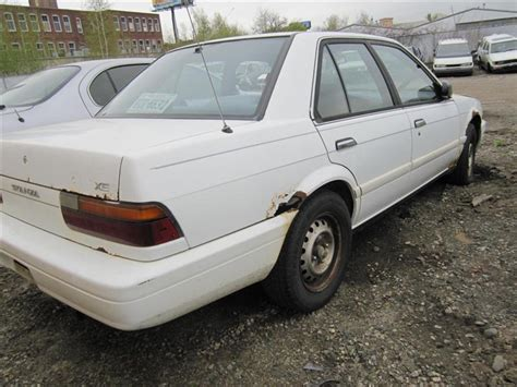 1991 nissan stanza parting out 1991 nissan stanza stock 110224 tom s