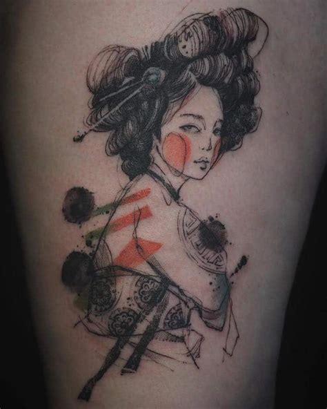 tattoo nadi korea watercolor tattoos that beautifully transform skin into a