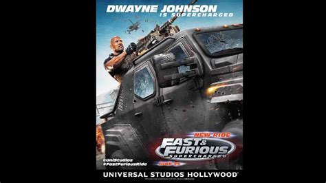 fast and furious 8 supercharged exclusive poster dwayne johnson rocks fast furious