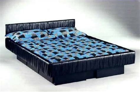 upholstered capri hardsided waterbed frame northern