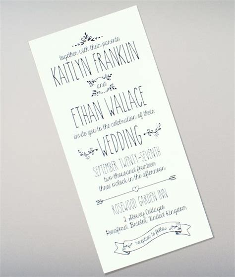 Casual Wedding Invitation Template by Doodle Wedding Invitation Invitation Ideas