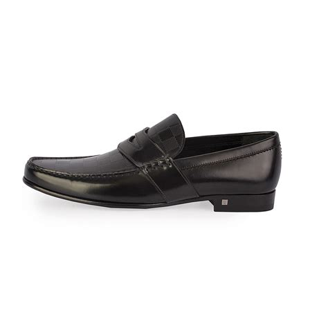 black louis vuitton loafers louis vuitton men s graduation loafers black s 42 8