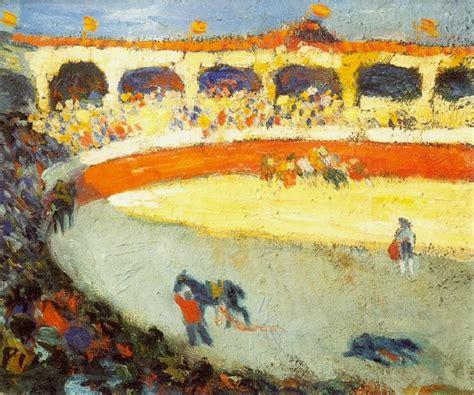 picasso paintings bullfight pablo picasso bullfighting 1896