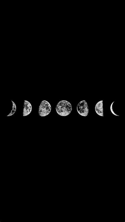 simple tumblr themes black background si te gustan las lunas elegiste el indicado fondo de