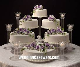 Wedding Cake Plates 6 Tier Cascading Wedding Cake Stand Stands 6 Tier Candle Stand Set Ebay
