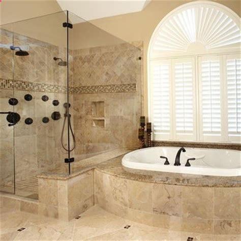 Traditional Bathroom Tile Ideas Traditional Bathroom Tiled Shower Design Pictures Remodel Decor And Ideas Page 7 My House