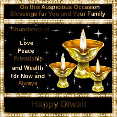 Blessings For You. Free Happy Diwali Wishes eCards
