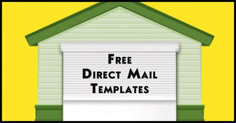 direct mail templates free enz 012 using the rei effect engineered