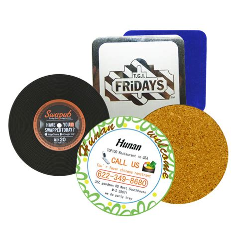 Beverage Coasters by Beverage Coasters Promotional Products Supplier Jin Sheu