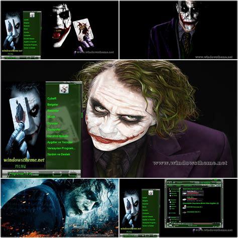 download themes joker joker theme for windows 7 visual style windows theme