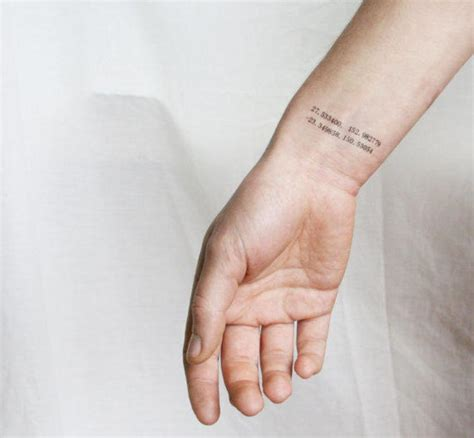 coordinate tattoos 18 stylish coordinate wrist tattoos