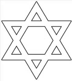 free jewish symbols coloring pages star of david outline clip art at clker com vector clip