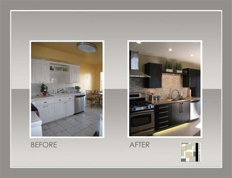 kitchen remodel before and after kitchens