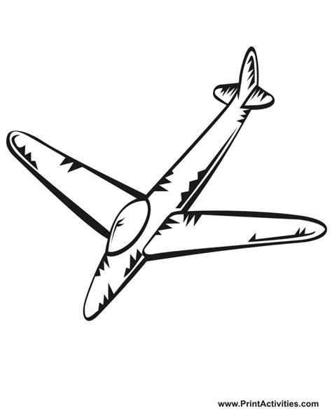 airplane clipart coloring page airplane pictures for kids cliparts co