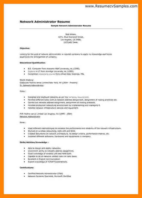 10 what a resume should look like informal letter