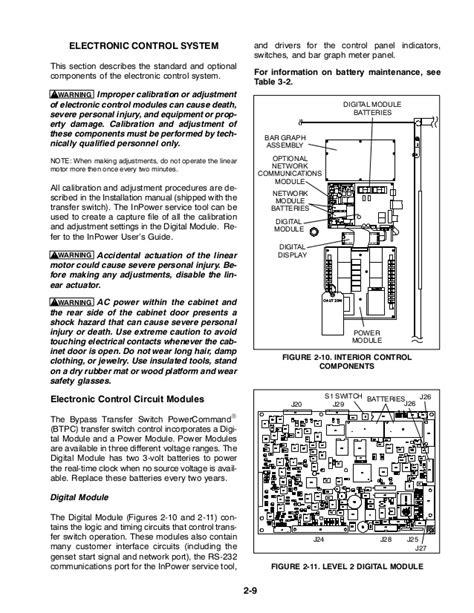 Onan Transfer Switch Wiring Diagram - Wiring Diagram