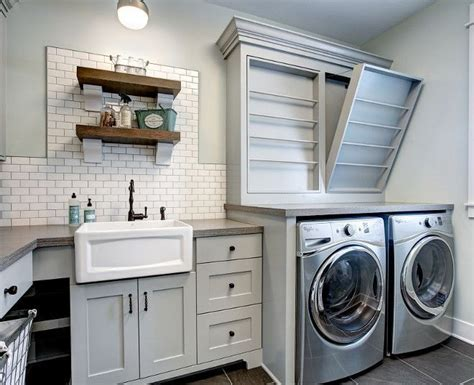 laundry room farmhouse sink best 25 farmhouse laundry rooms ideas on