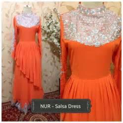 Sarimbit Gamis Salsa gaun pesta dan baju lebaran salsa dress by alvaro outlet nurhasanah outlet baju pesta