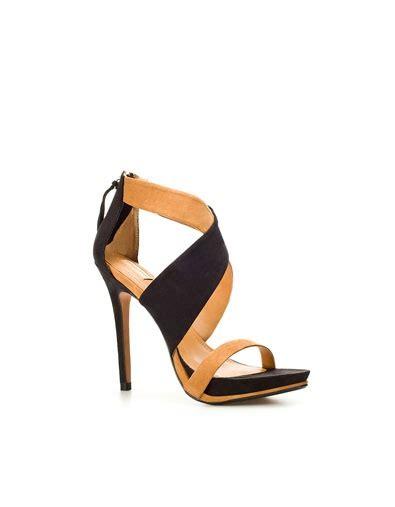 Sandal Flat Zara Nn41 Promo Menarik cross sandal heeled sandals shoes zara fashion zara