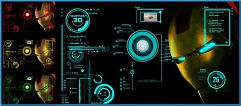 jarvis wallpaper for mac iron man jarvis screensaver mac download free
