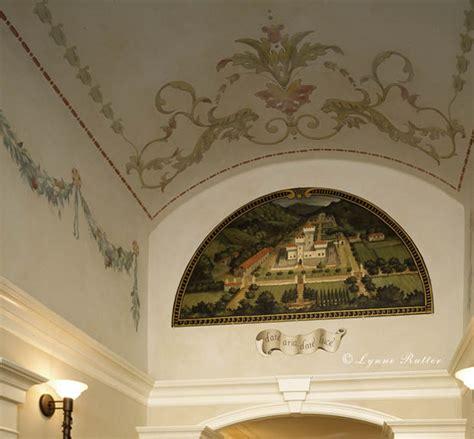 Italian Ceiling Lynne Rutter Studio Ceilings Italian Villa Entry