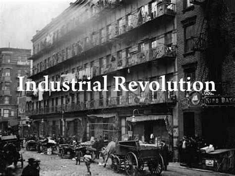 the industrial revolution home