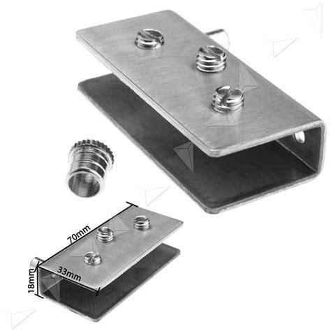 Pivot Hinge For Glass Door New Pair Glass Door Pivot Hinge Set For 12mm Glass Door Ebay