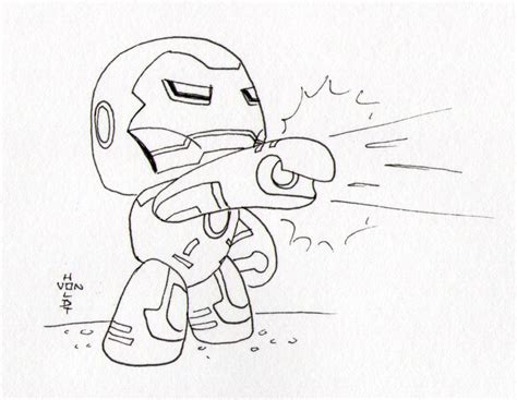 cute iron man coloring pages iron man doodle a day