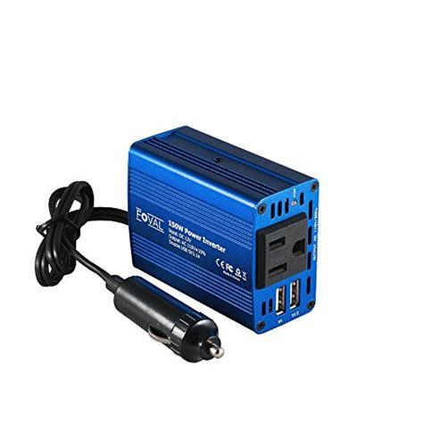 Inverter 150 Watt B 12 150 Colokan Charger Aki Mobil Kbm Handal foval 150w power inverter dc 12v to 110v ac converter with