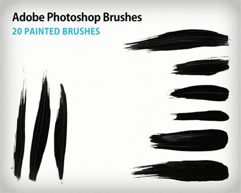 layout photoshop brushes 20 painted photoshop brushes