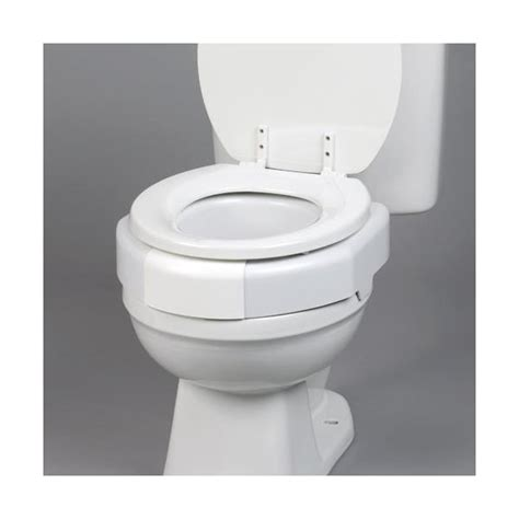 secure toilet seat maddak secure bolt hinged elevated toilet seat raised