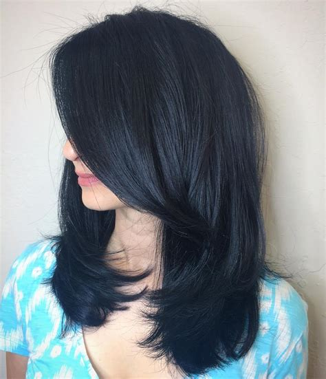 black blue hair color blue black hair how to get it right