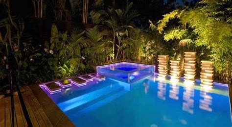 Outdoor Lighting Adelaide Outdoor Lighting Inspiration Pools By Design Australia Hipages Au