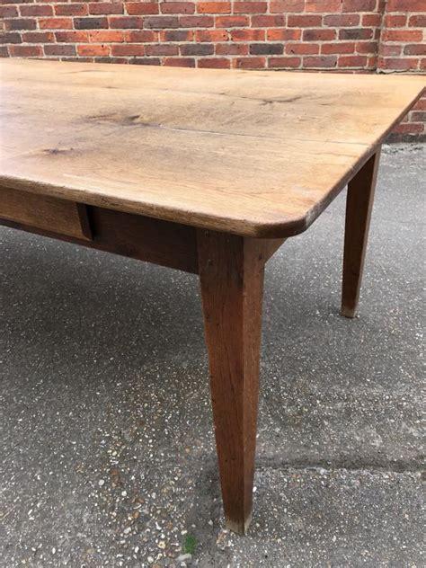 8 farmhouse table 8ft wide antique oak farmhouse table antique oak