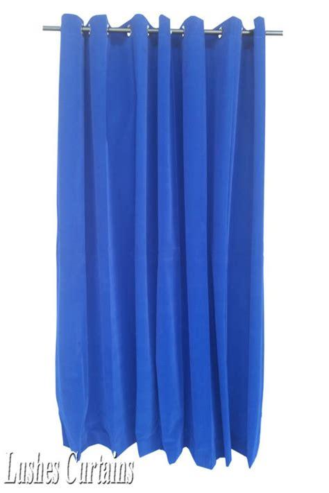 royal blue velvet curtains royal blue 96 quot h velvet curtain panel w grommet top eyelet