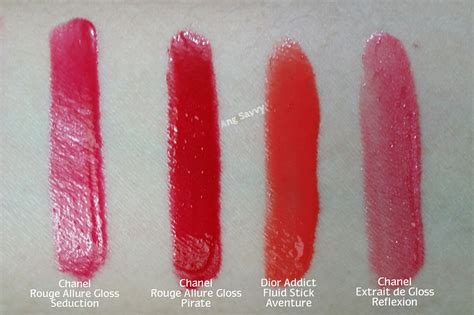 Lipgloss Chanel chanel gloss 18 colour and shine