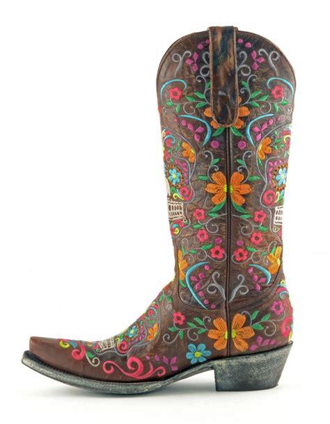 gringo klak boots gringo klak boots in brass horses heels