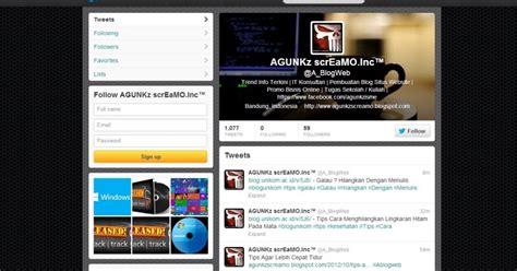 tutorial cara membuat desain web responsive tips tutorial cara membuat desain profil twitter terbaru