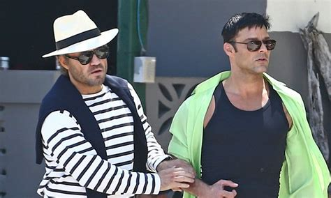 Ricky Martin Shows Footage Of Himself by Ricky Martin Versace Mini Series With Edgar Ramirez