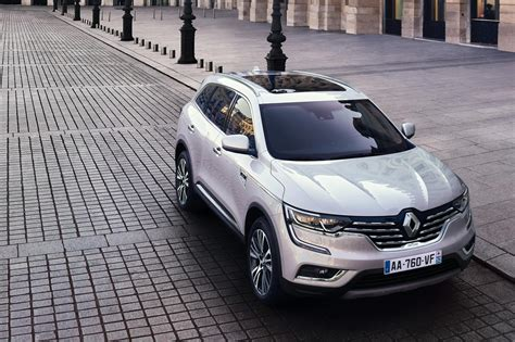 renault paris upmarket renault koleos initiale paris revealed by car